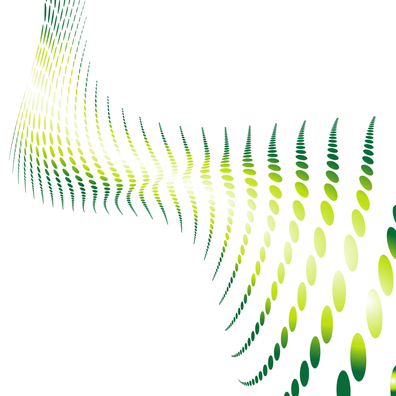 Halftone pattern green colour