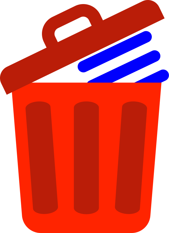 Trash Can Delete Icon