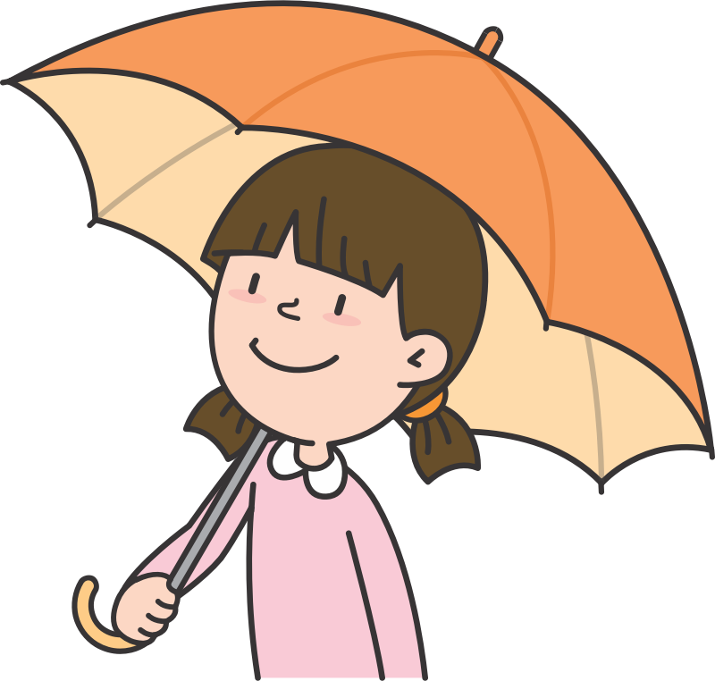 Girl with Umbrella (#5)