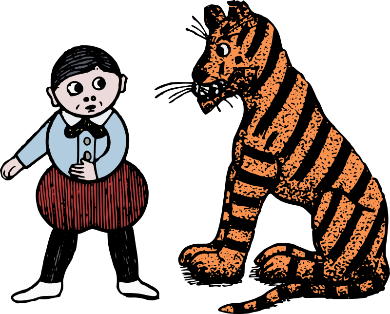 Tiger and Boy