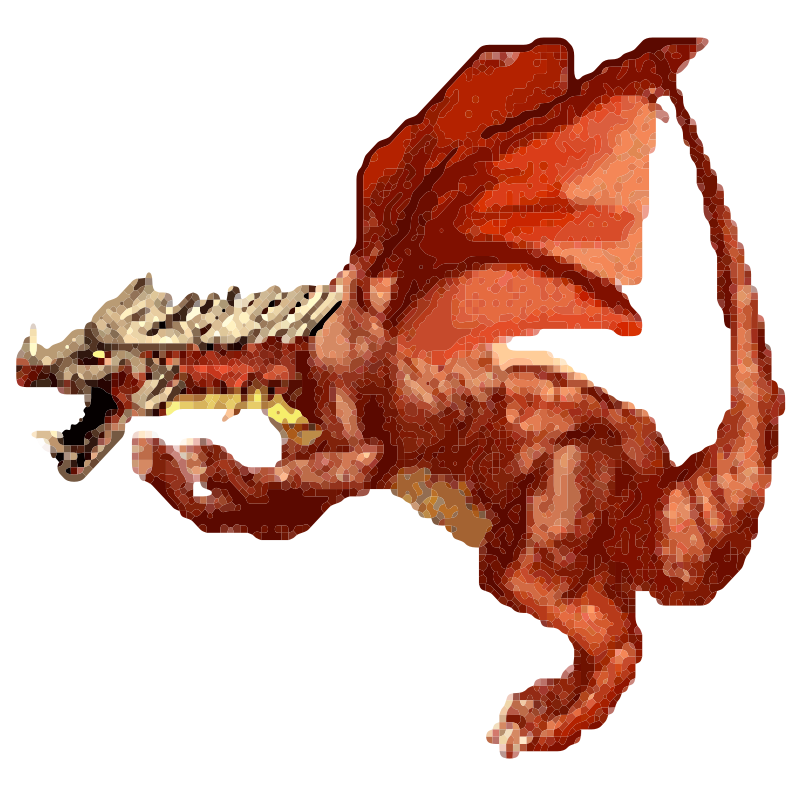 Dragon Pixel Art