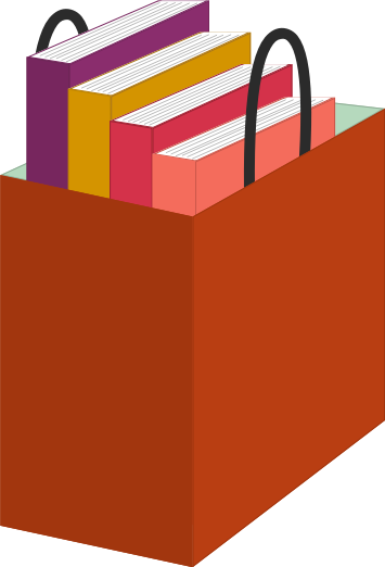 Bag with Books