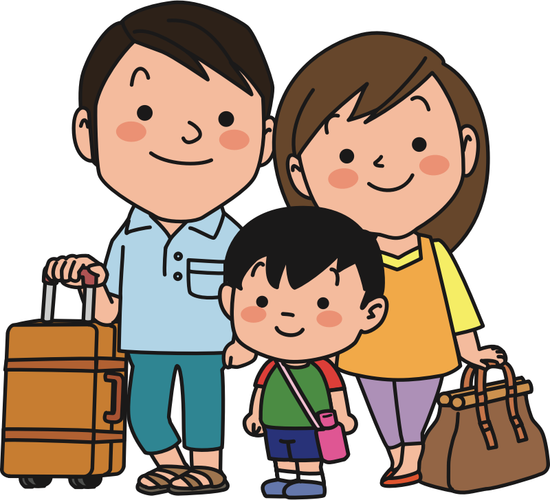 Travelling Family