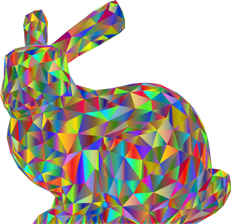 3D Stanford Bunny Polyprismatic