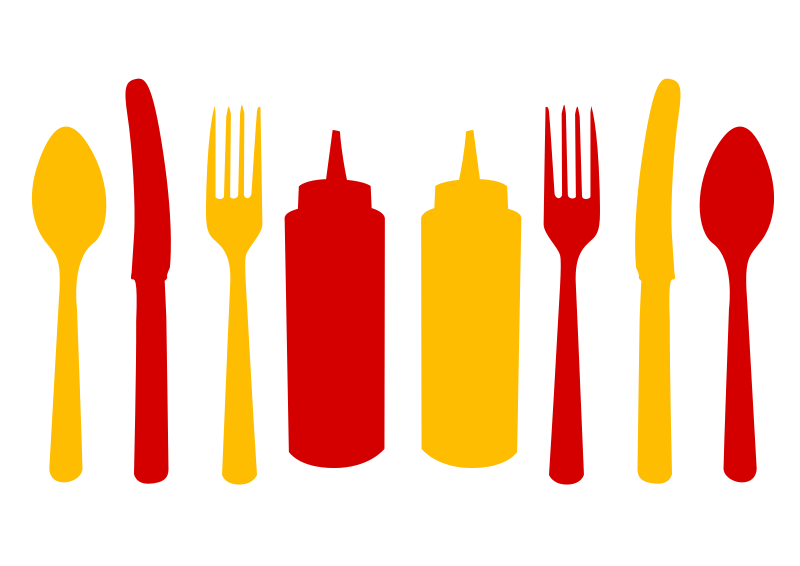 Condiments and Silverware
