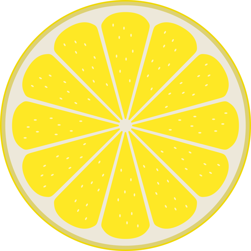 Lemon slice by Rones