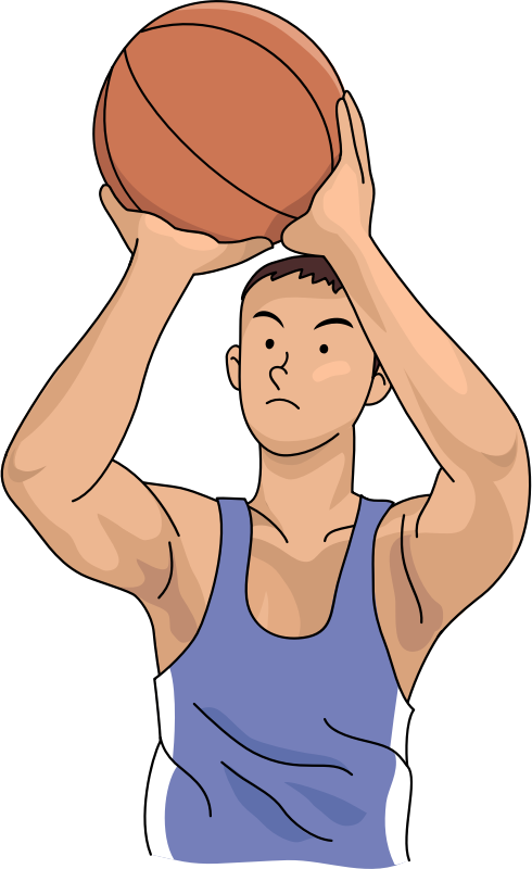 Basketball Player (#5)