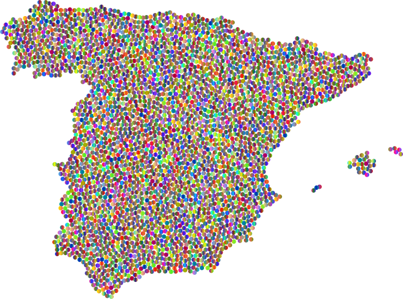 Spain Dots Polyprismatic