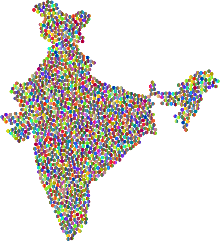 India Dots Polyprismatic