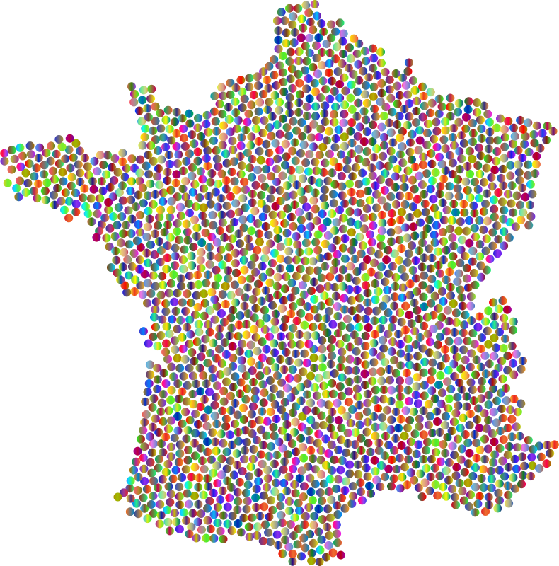 France Dots Polyprismatic