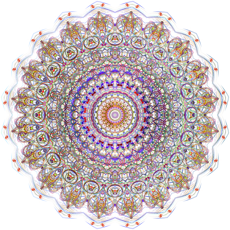 Freeform Mandala 2 No BG