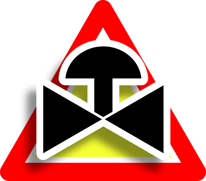 Warning valve icon