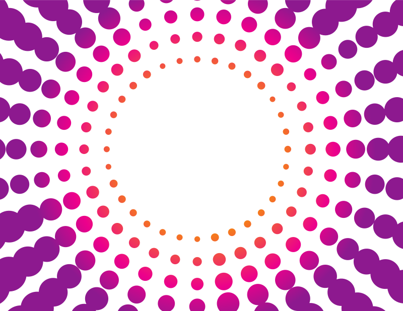 Purple dotted pattern