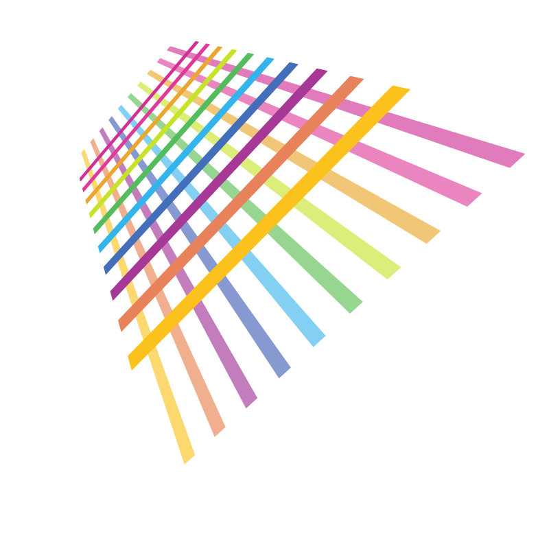 Coloured lines grid design