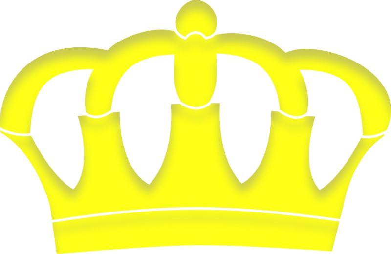crown with shadow