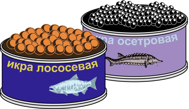 Russian Caviar - Colour