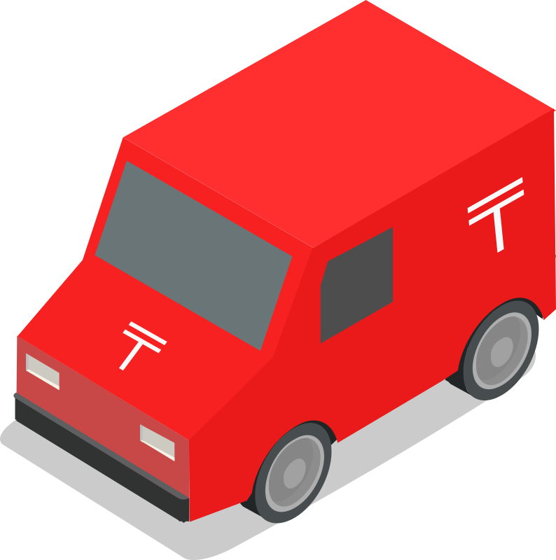 Mail Truck (Japanese version)