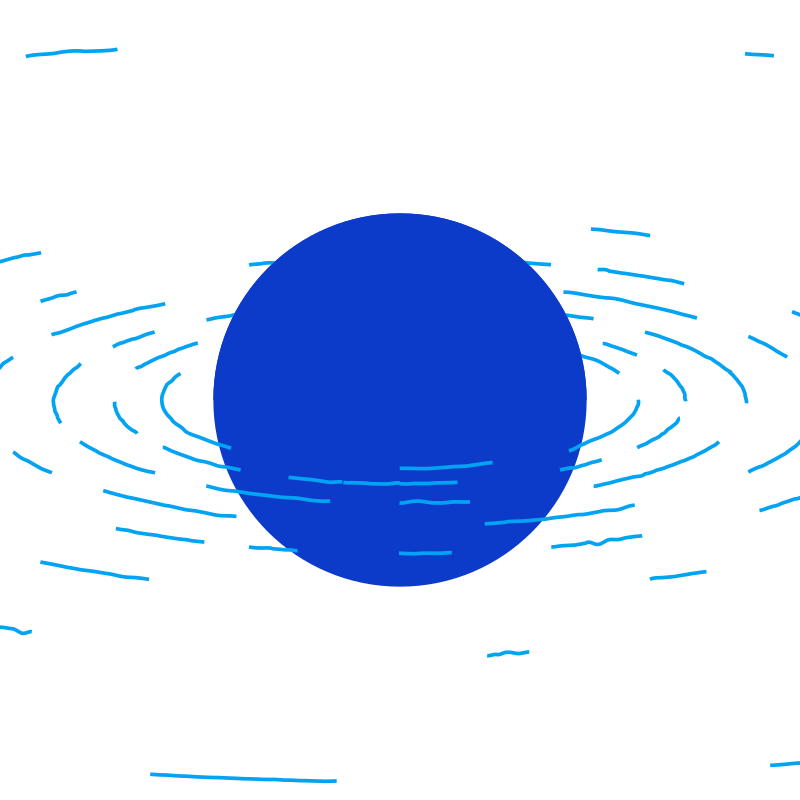 Minimal sphere floating in water