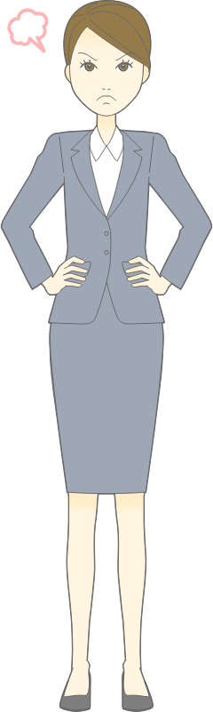 Tall Business Woman (#3)