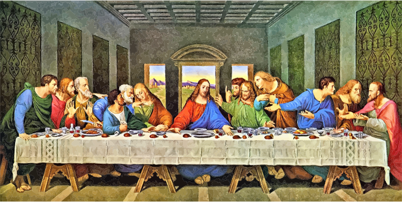 The Last Supper Restored Leonardo Da Vinci