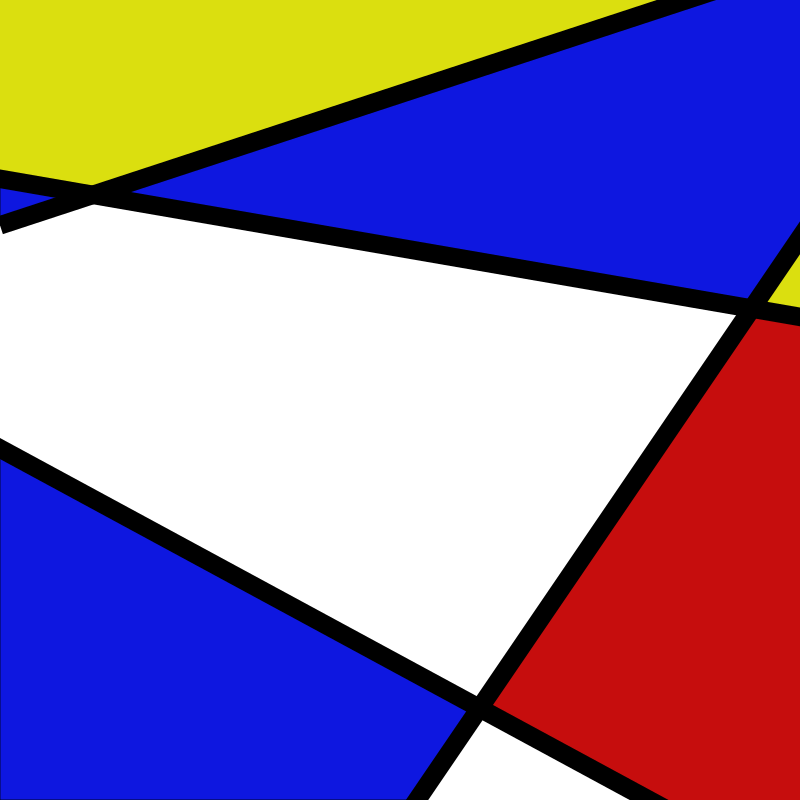 Messed up Mondrian