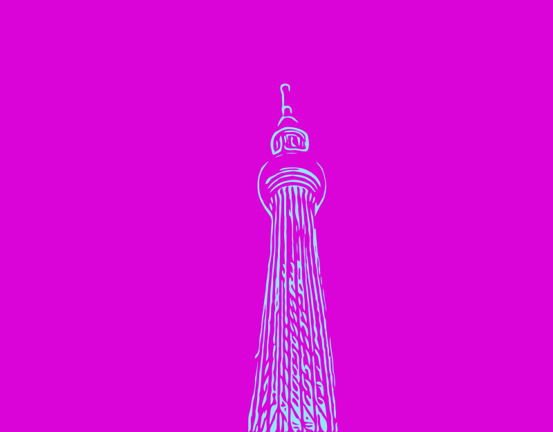 Abstract Skytree
