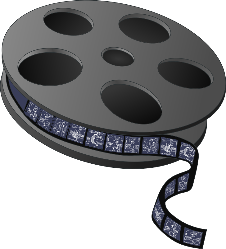 Movie Reel with Frames