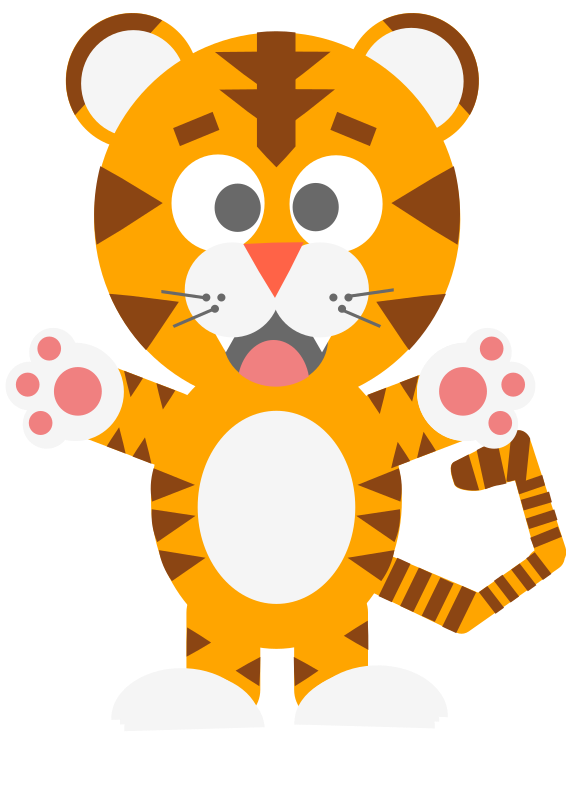 Tiger cartoon
