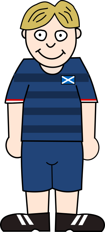 Soccerplayer Scotland 2021