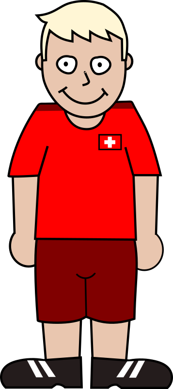 Soccerplayer switzerland 2021