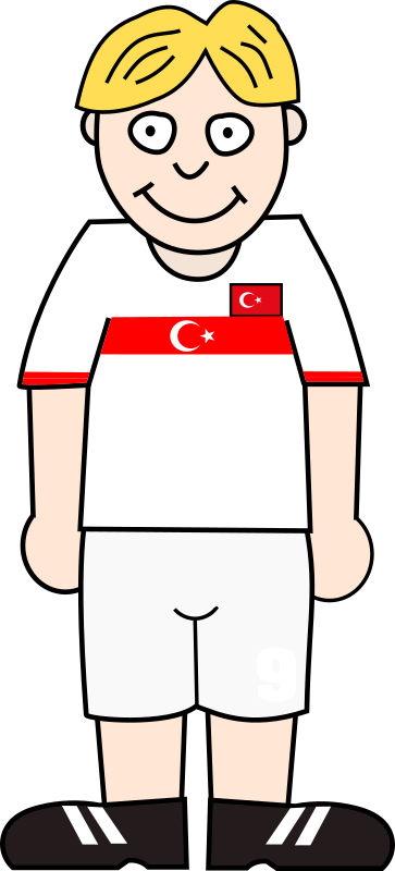 Soccerplayer Turkey 2021