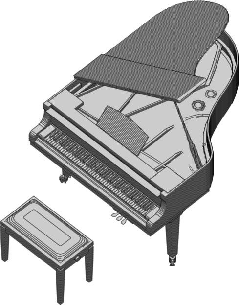 Animated Piano