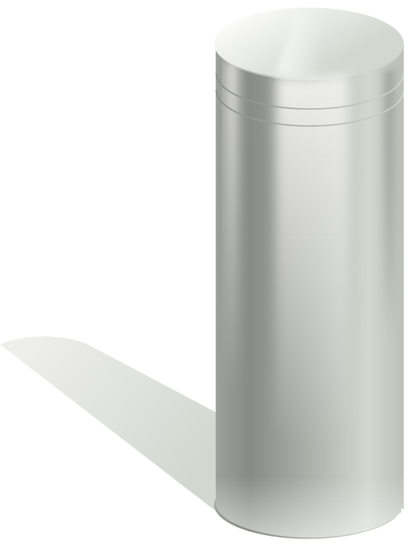 metallic tube