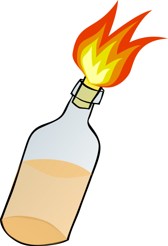 molotov cocktail
