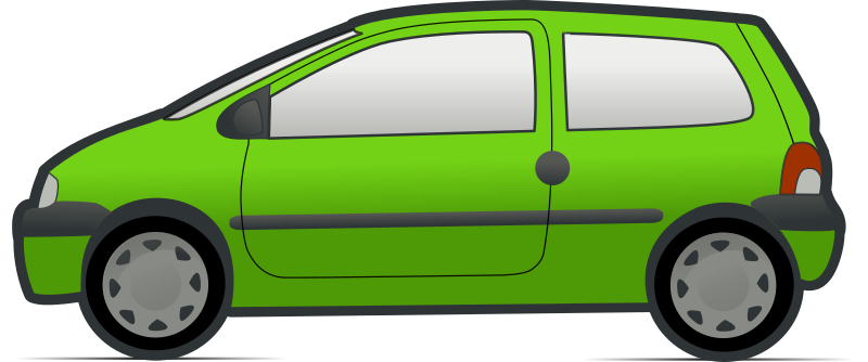 red and green renault twingo 3