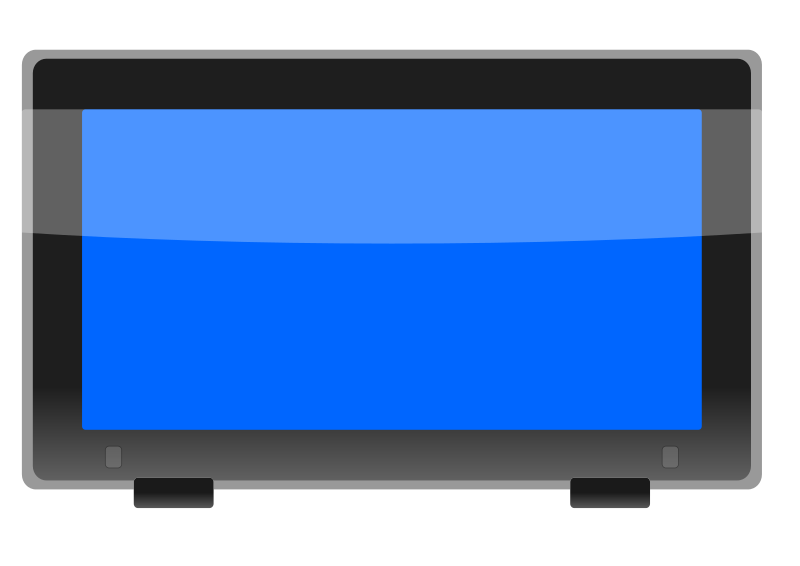 LCD Widescreen Monitor 1