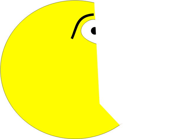Terrified Pacman