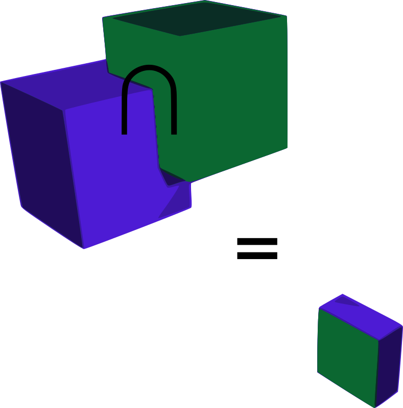 Intersection of Two Cubes