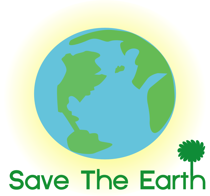 logo save earth