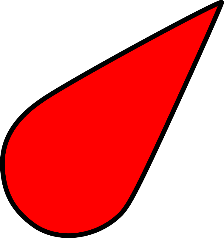sea chart symbol light red