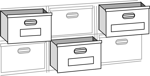 file cabnet drawers