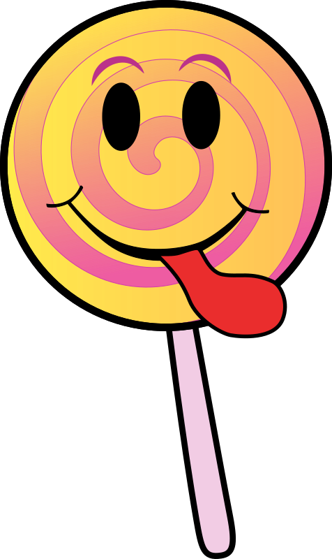 Lollipop Smiley