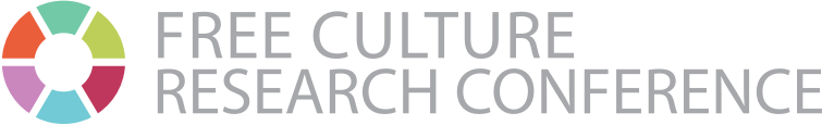 Free Culture Research Conference Logo 2