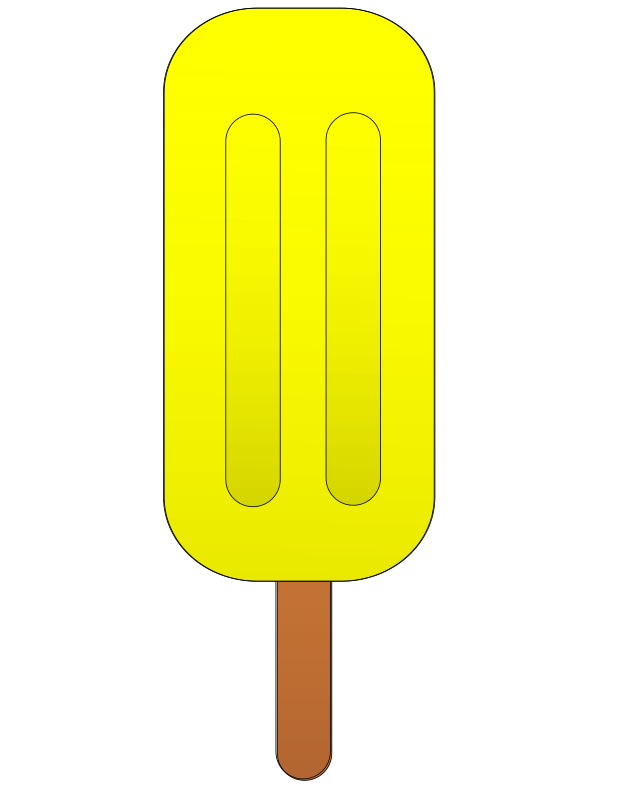 Pineapple popsicle.