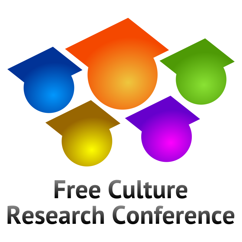 Free Culture Research Conference logo V3