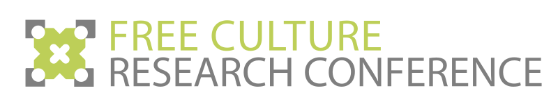 Free Culture Research Conference Logo 5