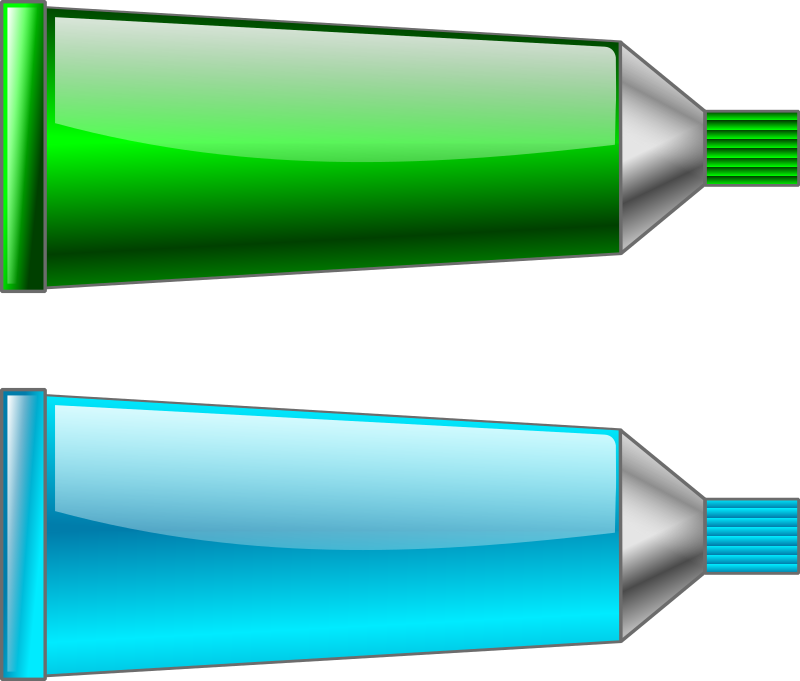 Color tube Green Cyan