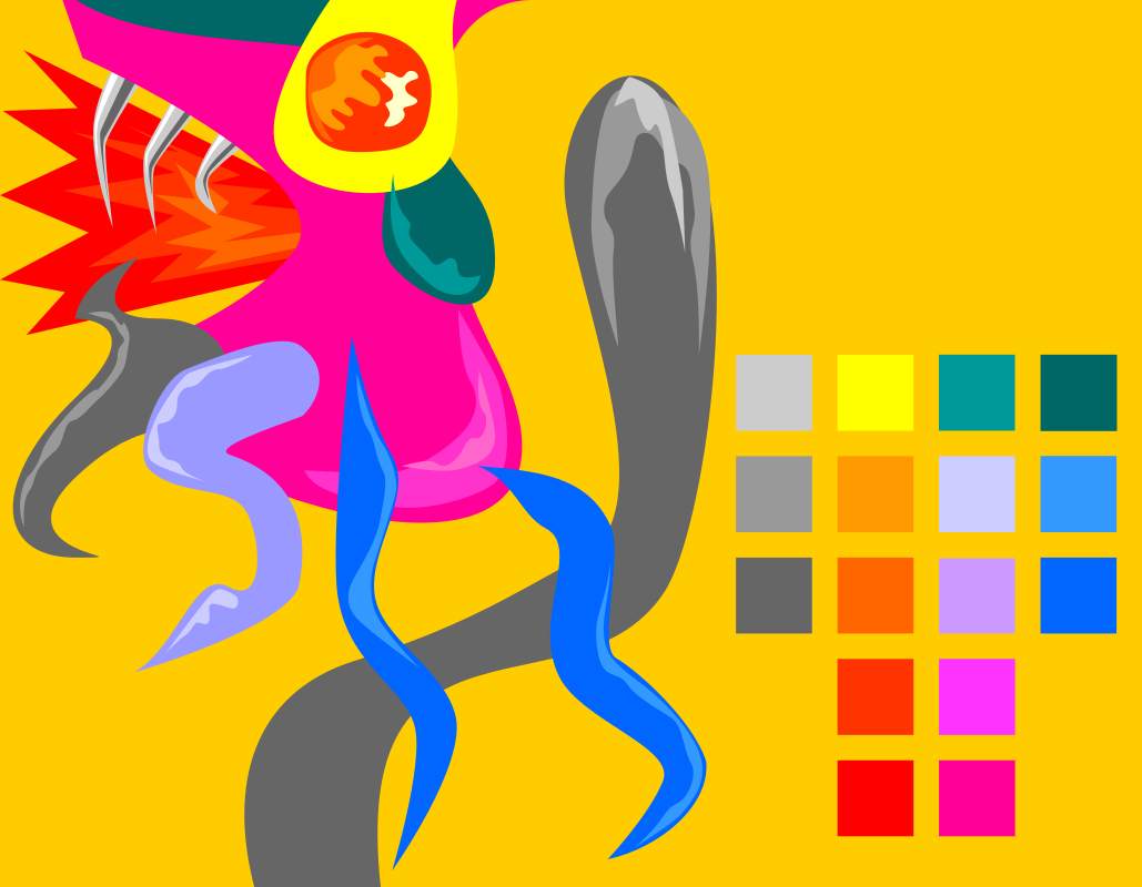 Colour Palette with Chobi