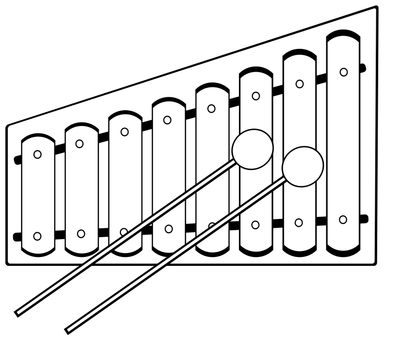 Xylophone (outline)