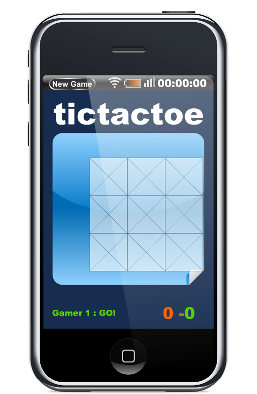 Javascript Phone Tictactoe Game